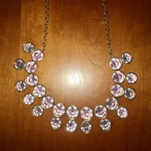 Jewelry - Pink crystal necklace